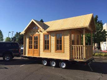 Tiny houses I Tiny house the office on wheels